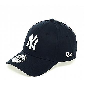 Nieuw tijdperk klassieke 39Thirty New York Yankees Cap - Navy / wit