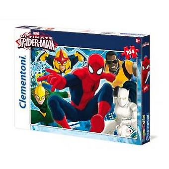 Clementoni Puzzle 104 Pcs. Ultimate Spiderman (Toys , Boardgames , Puzzles)