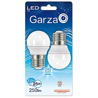 Garza Spherical 3.5W E27 Led 210th 250Lm2700K (2 pcs)