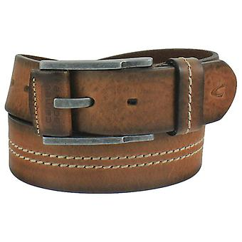 Camel active leather buckle belt 116-113