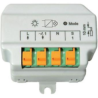 HomeMatic Wireless reverse phase control dimmer 91816 1-channel Flush mount 180 VA