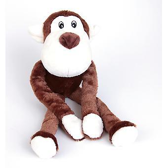 Luxury Feel Squeaky Dog Toy Monkey 43cm (17
