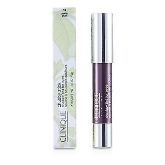 Clinique lubne Stick skyggen Tint for øyne - # 11 korpulent plomme 3g / 0,1 oz