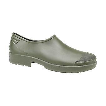 Dikimar Primera Ladies Wellingtons PVC Gardening Shoes Green Slip On Footwear
