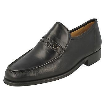 Thomas męskie tępe Smart Slip On buty Amos