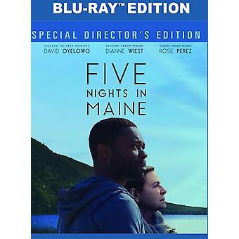 Fünf Nächte in Maine [Blu-Ray] USA import