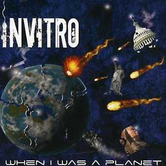 Invitro - toen ik een planeet [CD] USA import