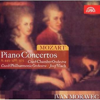 W.a. Mozart - Mozart: Conciertos para Piano K. 449, 488, 503 [CD] USA importar
