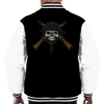 Gør din Bit på slagmarken mænds Varsity jakke