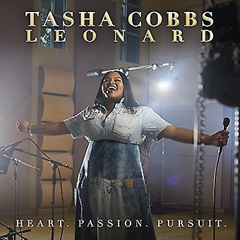 Tasha Cobbs Leonard - cuore passione Pursuit [CD] USA importare