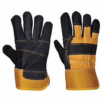 sUw - Cow Split Leather Hide Glove (1 Pair Pack)