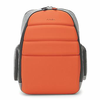 "Fedon 1919 NJ Backpack Jersey Orange Rucksack Zaino 13"" Laptop Notebook MacBook"