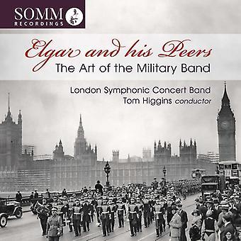 Elgar / Higgins - kunsten at militære båndet [CD] USA import