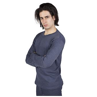 Mens Thermal Underwear Long Sleeve T-Shirt Top