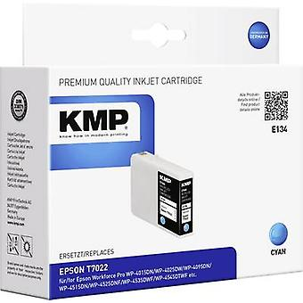 KMP Ink replaced Epson T7022 Compatible Cyan