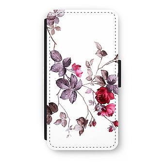 أي فون 7 بالإضافة إلى انعكاس حالة-الزهور جميلة