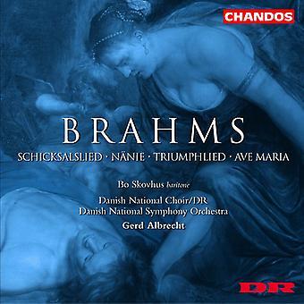 J. Brahms - Brahms: Schicksalslied; N Nie; Triumphlied; Ave Maria [CD] USA import