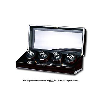 Portax Watchwinder Eleganza 8 watches ebony Walnut Burl 1002325