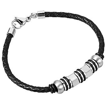 Burgmeister Leather bracelet, JBM1170-749