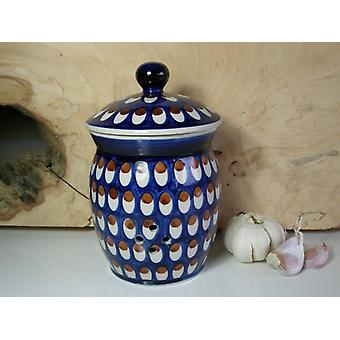 Garlic pot, 1 liter, ↑18 cm, Ø 12 cm, tradition 60, BSN 40073