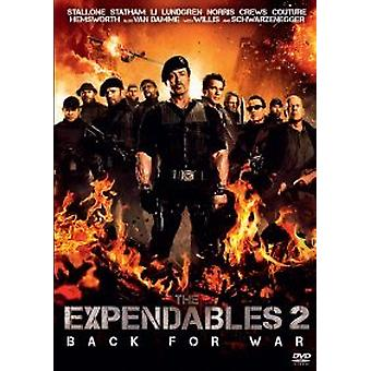 The Expendables 2 (DVD) (UUSI)