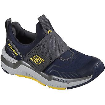 Skechers Boys Hyperjolt Thermospeed Lightweight Athletic Trainer Shoes