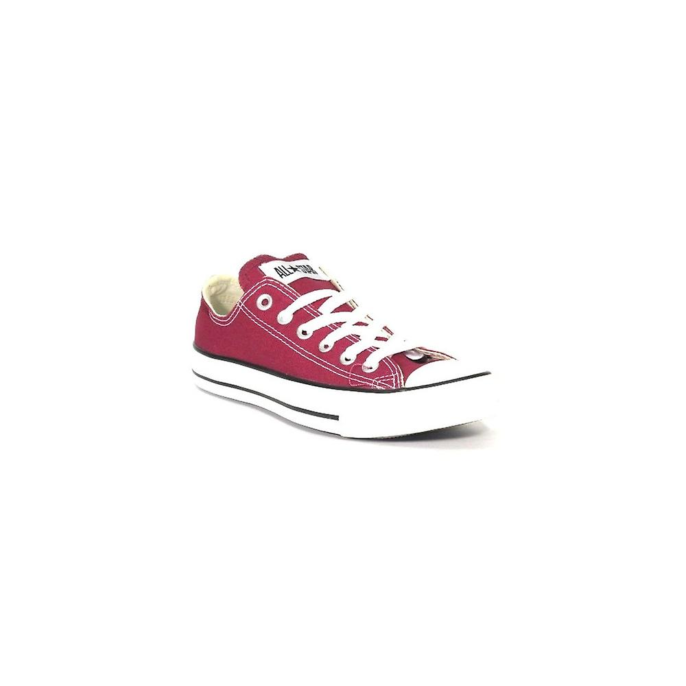 Converse Unisex Trainers Chuck Taylor All Star Ox Maroon