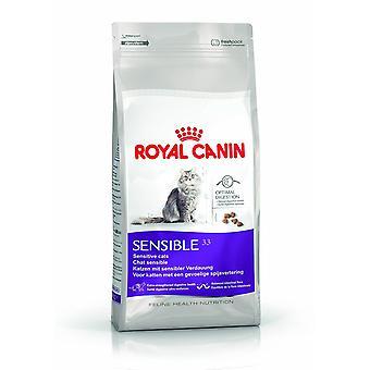 Royal Canin SENSIBLE 33 Katze trockene Lebensmittel Mix 10kg