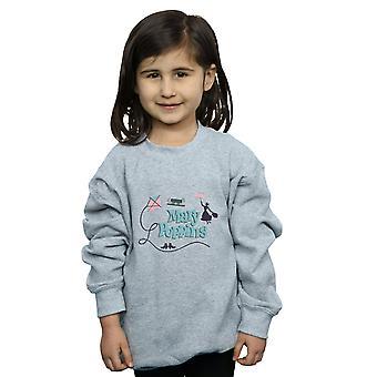 Disney Mädchen Mary Poppins Logo Sweatshirt