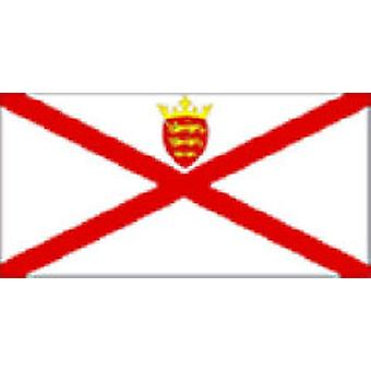 Jersey Flag 5ft x 3ft With Eyelets For Hanging