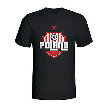 Poland Country Logo T-shirt (black)