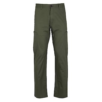 Farah Pine Cargo Twill Military Green Chinos