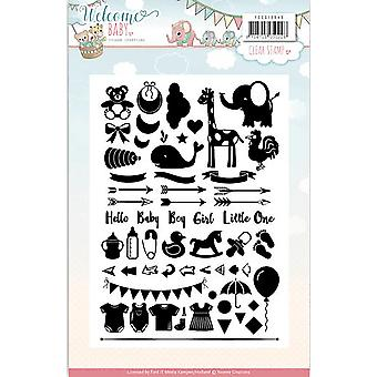 Find It Trading Yvonne Creations Clear Stamps-Welcome Baby