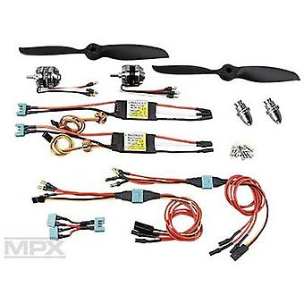 Model aircraft brushless motor Multiplex 332619 Compatible with: Multiplex Twinstar