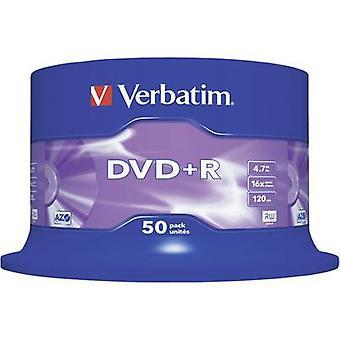 Leere DVD + R 4,7 GB Verbatim 43550 50 PC-Spindel