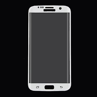 Samsung Galaxy S7 edge 3D armoured glass film screen protector covers case white