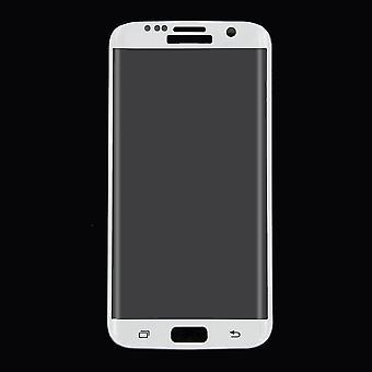 سامسونج Galaxy S7 حافة الزجاج المدرعة 3D فيلم حامي الشاشة يغطي الحالة البيضاء