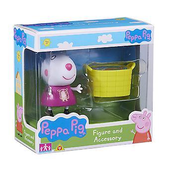 Peppa Pig Mini serie figura y accesorios.