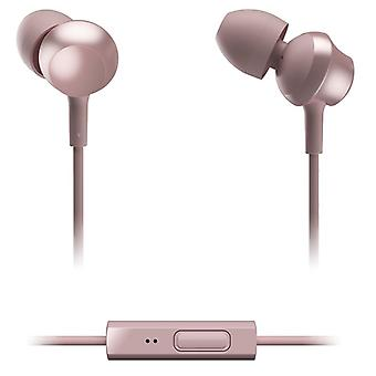 Panasonic RPTCM360EP In-Ear Headphone With Remote & Mic - Rose Gold