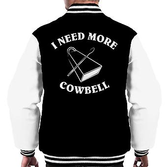 SNL I Need More Cowbell Men's Varsity Jacket