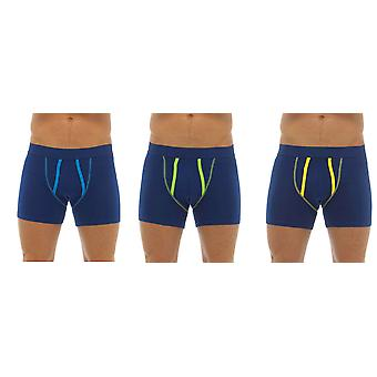 Tom Franks Mens Cotton A Front Boxer Short Trunk (Pack of 3)