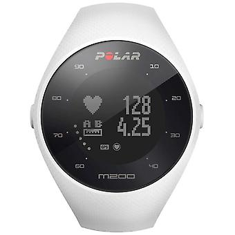 Polar Unisex White M200 GPS Wrist HR M/L 90067741 Watch