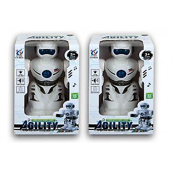 Robot met licht en geluid 8778