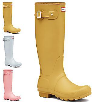 Womens Hunter Original Tall regn snö gummistövlar gummistövlar Vattentät Boot