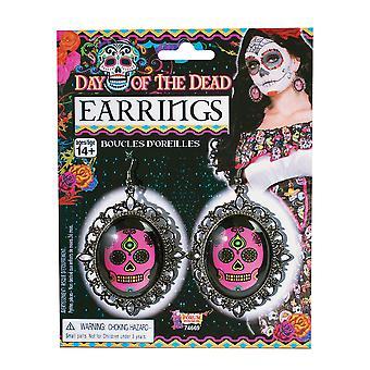 Bnov Day Of The Dead Earrings