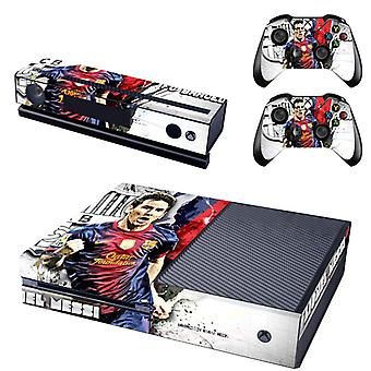 REYTID Messi Xbox One Console Skin / Sticker + 2 x Controller Decals & Kinect Wrap - Full Set - Microsoft XB1