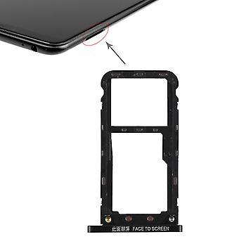 For Xiaomi MI Max 3 cards Halter SIM tray slide holder spare parts black