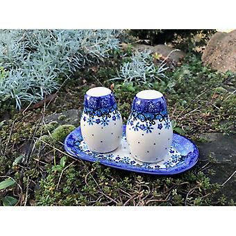 Tray with salt shaker and pepper shaker, Fleur delicate, BSN J-4788