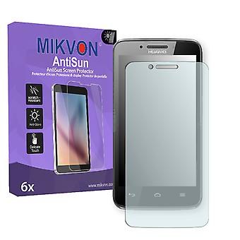 Huawei Ascend Y511 Screen Protector - Mikvon AntiSun (Retail Package with accessories)