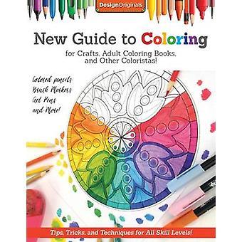 Ny Guide till färgläggning för hantverk - vuxen målarböcker- och andra C